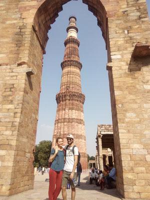 Inder bezahlen 30Rps und Touristen 500Rps für den Eintritt..