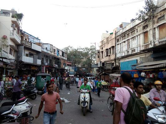 Auf dem Main Bazar ist es niemals ruhig