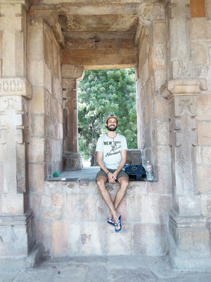 Happy Domi @Qutub Minar