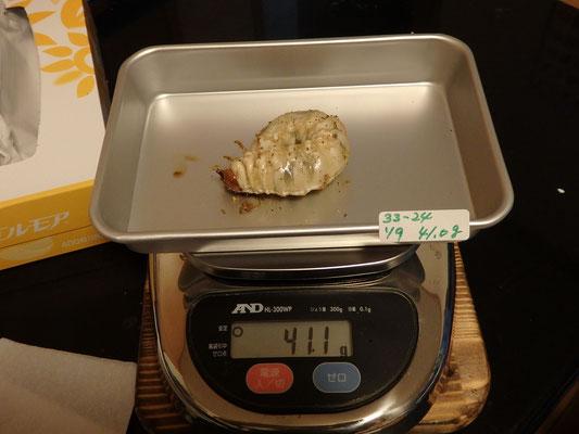 ㉝1633-8555CDG  85.5mm(2514)D  × 55.0mm(1219)G  兄弟幼虫もデカいのが多数出現しております。