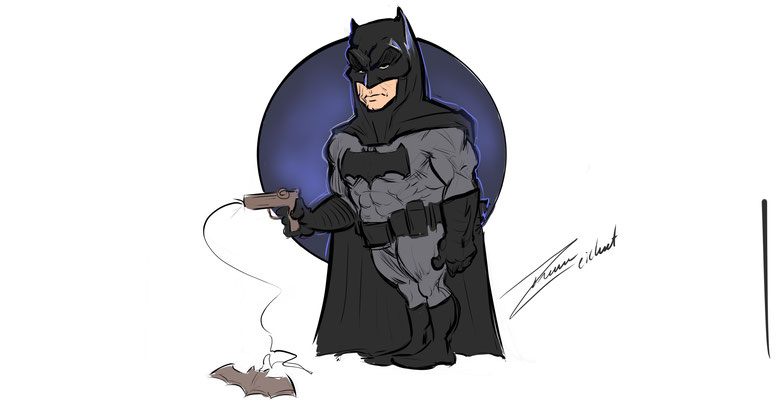 Batman Karikatur