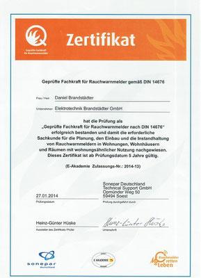 Q Zertifikat