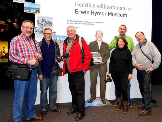 Hymer Museum Bad Waldsee - Januar 2016