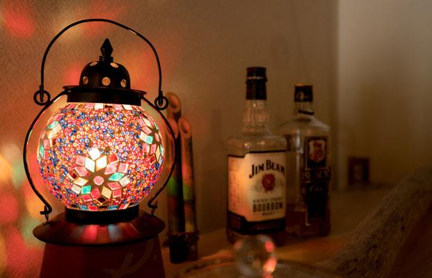 雰囲気のあるランプ