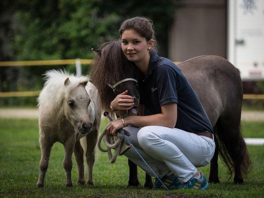 Sophie mit Lilly