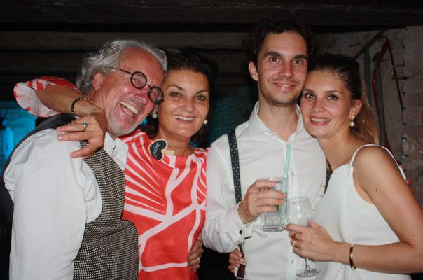 sophie, philipp, ingrid und ich