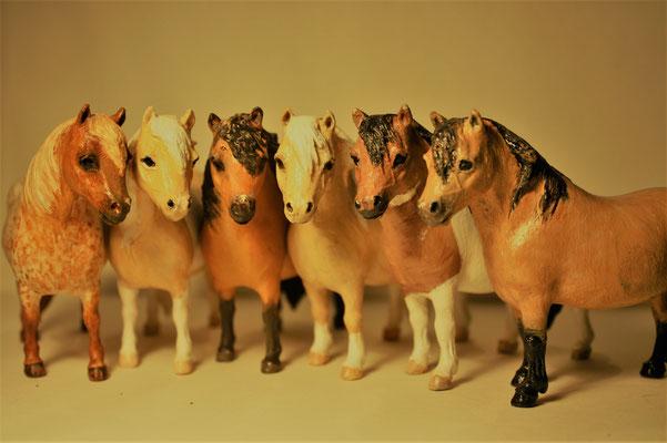 unsere Porzellanpferde