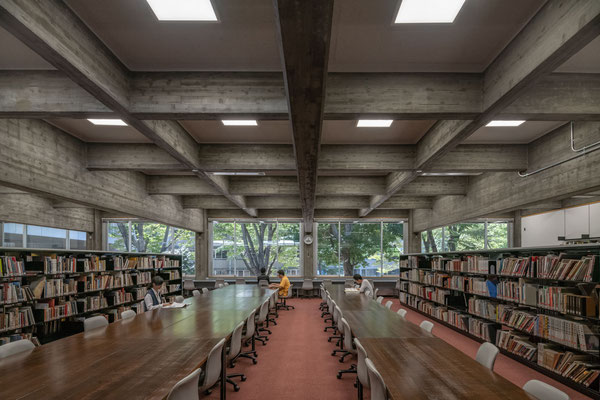 TOKYO UNIVERSITY OF THE ARTS, INTERNATIONAL RESOURCE CENTER OF ARTS, Existing Library Building