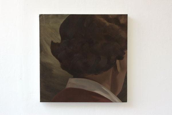 Zij keerden terug II, oil on canvas, 59x58cm , 2016