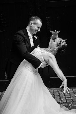 Weddingshoot op locatie