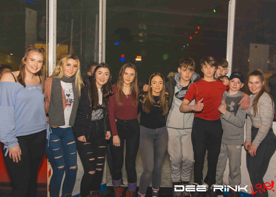 Party Disco Ice Deeside Ice Rink