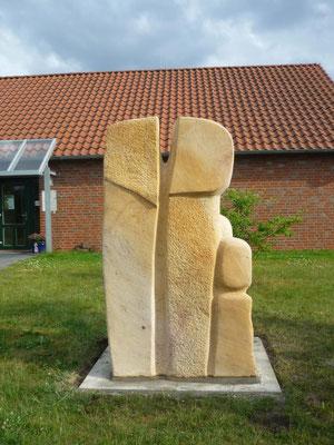 >FAMILIENGRUPPE<, Kindergarten in Radbruch, 2016, H 230 cm