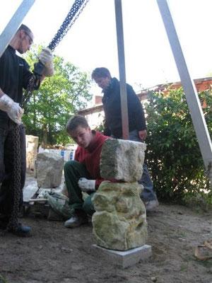 Aufbau der Einzelsteine