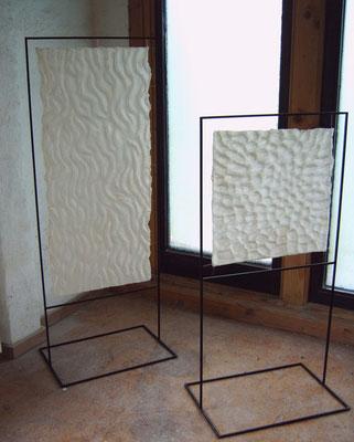 >Meereslauschen<, Filz, 2008
