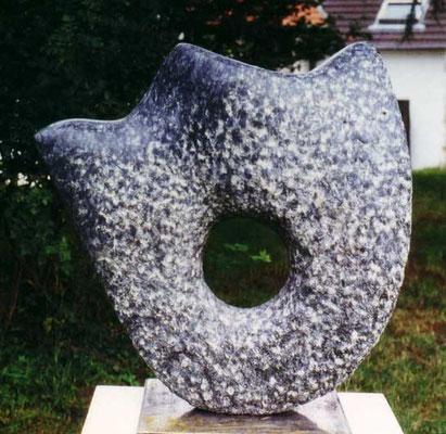 >König der Meere<, Larvikit, 2000, H 70 cm