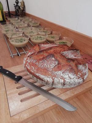 vrai pain au levain de blé