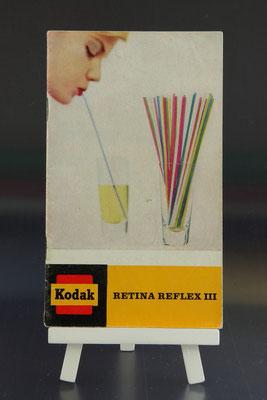 KODAK Retina Reflex III  Broschüre ©  engel-art.ch