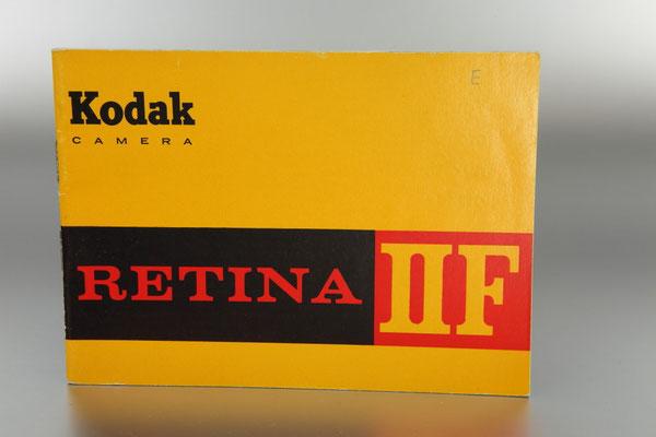 Anleitung KODAK Retina IIF Typ 047  ©  engel-art.ch
