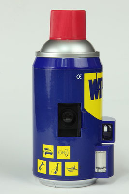 Spraydosen Kamera WD40    ©  engel-art.ch