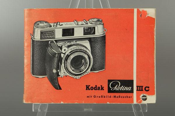 Bedienungsanleitung KODAK Retina IIIC (Typ 028)  ©  engel-art.ch