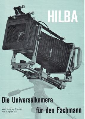 Betriebsanleitung der HILBA Kamera  1947  ©  HILBA Geräte Zürich