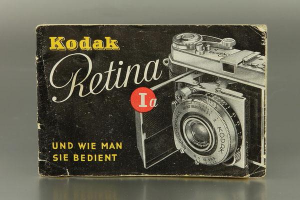 Gebrauchsanleitung KODAK Retina Ia (Typ 15)  ©  engel-art.ch