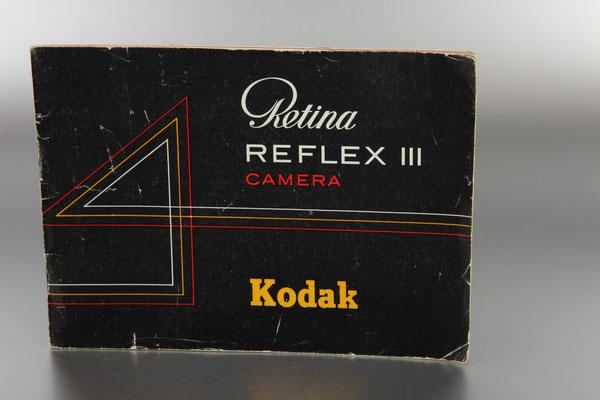 Anleitung KODAK Retina Reflex III  ©  engel-art.ch