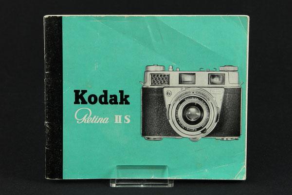 Gebrauchsanleitung KODAK Retina IIS   ©  engel-art.ch