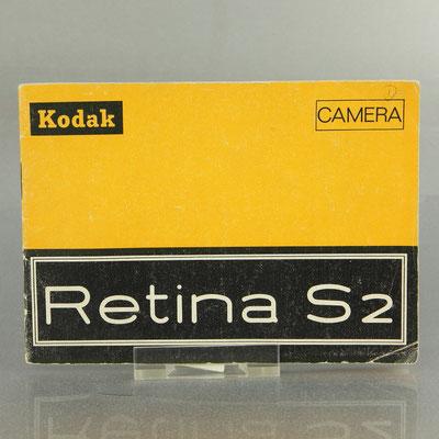 KODAK Retina S2 (Typ 061) Gebrauchsanleitung  ©  engel-art.ch