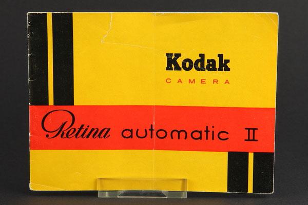 nleitung KODAK Retina automatic II (Typ 032)  ©  engel-art.ch