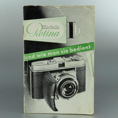 Anleitung KODAK Retina Ib  © engel-art.ch