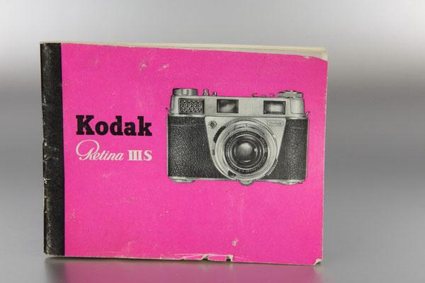 Anleitung KODAK Retina IIIS (Typ 027)  ©  engel-art.ch
