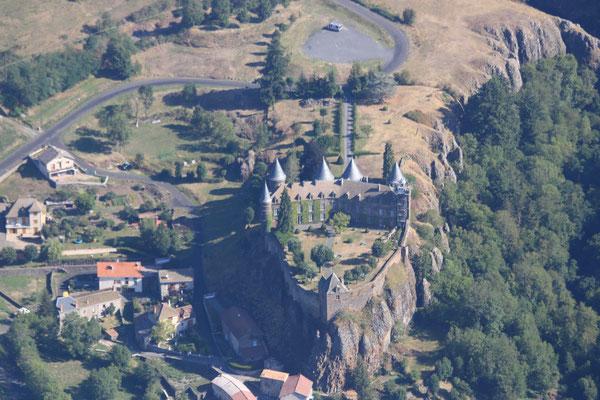château depuis vol en ULM