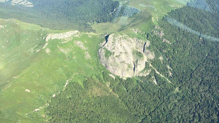 vue depuis vol en ULM