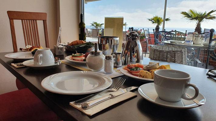 Frühstück im Haus Meeresblick