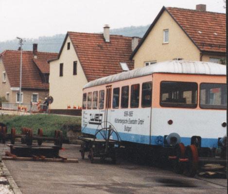 abgestellter VB 122 in Neuffen ...