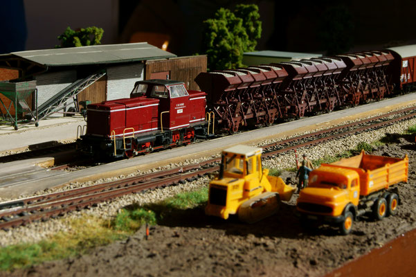 Güterverkehr in Frickenhausen
