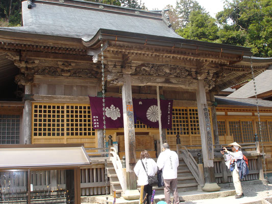 12番札所 摩廬山 焼山寺