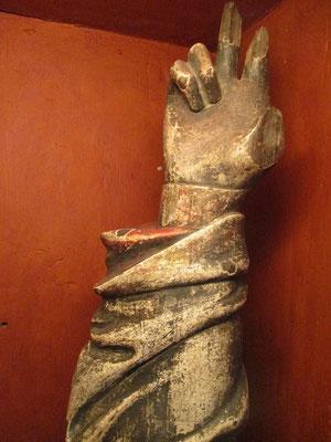 Eine schwörende Hand