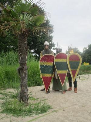Nach dem die Burg (Jerusalem) gefallen war und wir auf dem Rückzug waren, vereinbarten wir den Treffpunkt der übrig gebliebenen Kämpfer an der Oase.