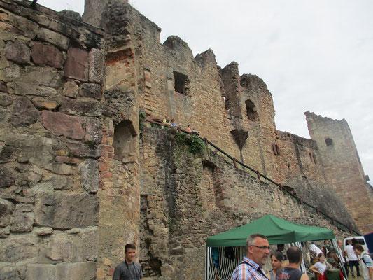 Imposante Burg