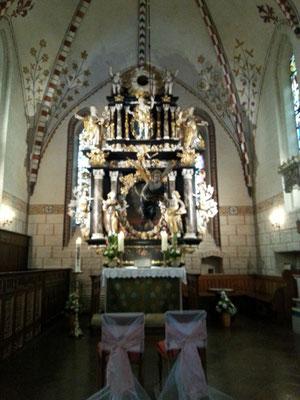 Der Altar enstand 1686
