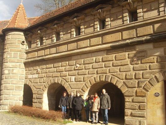 Durch Zufall entdeckten wir Lichtenau auf unserem Weg nach Eschenbach