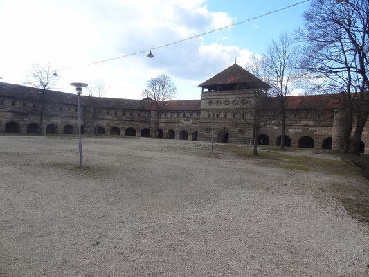 Der einstige Exezierplatz der Festung