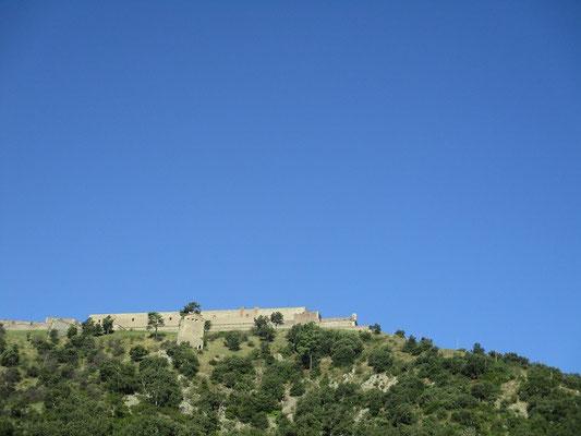 Viele Burgen lagen auf unserem Weg