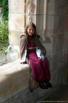 Im Kloster Frauenalb wurde ihr das Lesen und Schreiben zu Teil