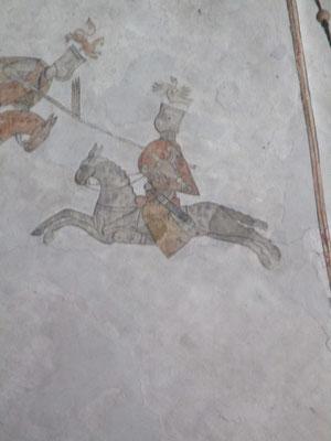 Leider konnten wir nicht mehr über dieses Deckengemälde in Erfahrung bringen. Heinrich contra Friedrich I oder Otto contra Philipp ?