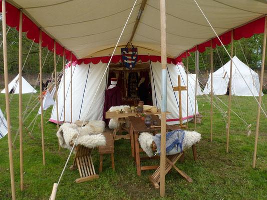 Das Zelt von Gerd Klein