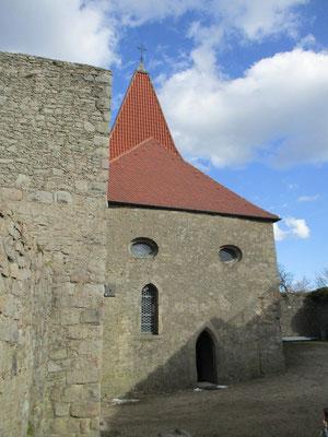 Die Burgkapelle beherbergt ein kleines Museum