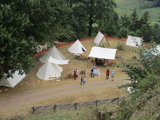 Das Lager der Comitatus 1280 und der Elztäler Lagerey